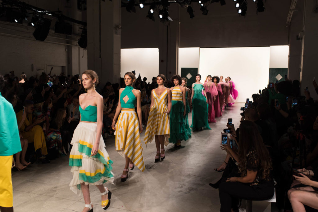 Leanne Marshall Runway Show at NYFW 2017