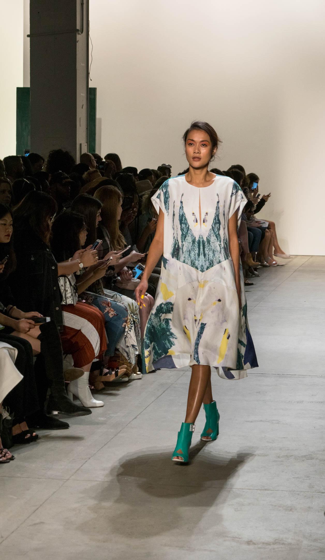 Leanne Marshall NYFW style