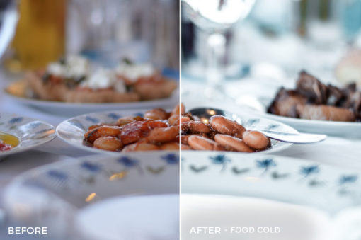 3 Food Cold - Travel Fever Lightroom Presets - @bombshellsisters - Felicia Ferm - Olivia Ferm - FilterGrade Digital Marketplace