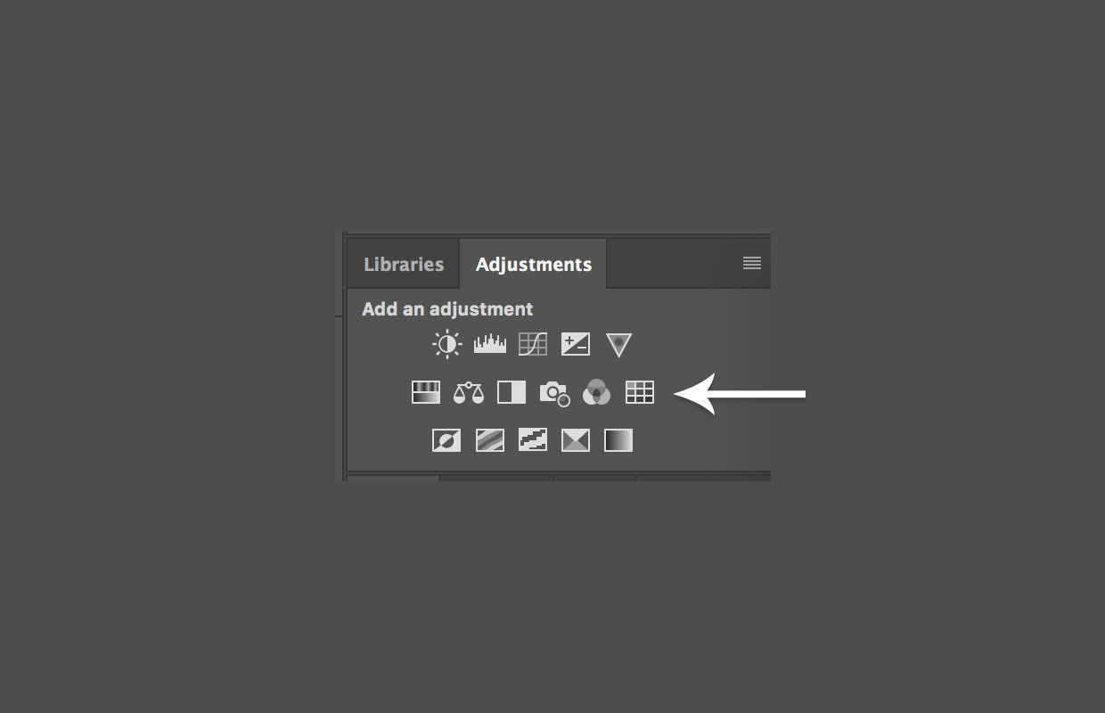 Color Lookup tool in Photoshop Adjustments Panel