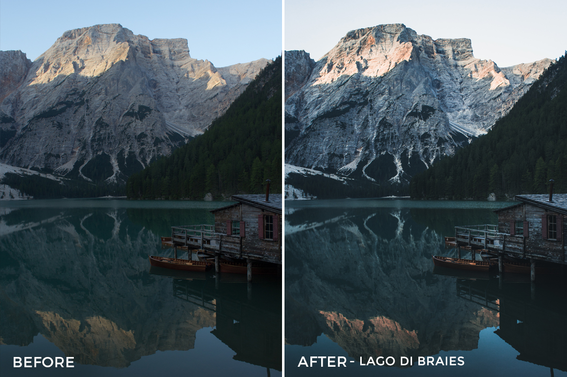 4 Lago Di Braies- Marcel Heller Lightroom Presets - Marcel Heller Photography - FilterGrade Digital Marketplace