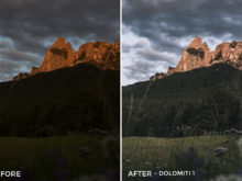 2 Dolomiti 1 - Marcel Heller Lightroom Presets - Marcel Heller Photography - FilterGrade Digital Marketplace
