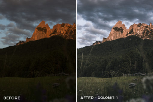 2 Dolomiti 1 - Marcel Heller Lightroom Presets - Marcel Heller Photography - FilterGrade Digital Marketplace
