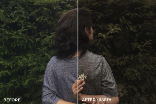 5 Earth'- Colorgrader Lightroom Presets - @colorgrader - FilterGrade Digital Marketplace