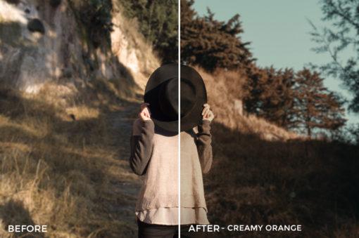 2 Creamy Orange- Colorgrader Lightroom Presets - @colorgrader - FilterGrade Digital Marketplace