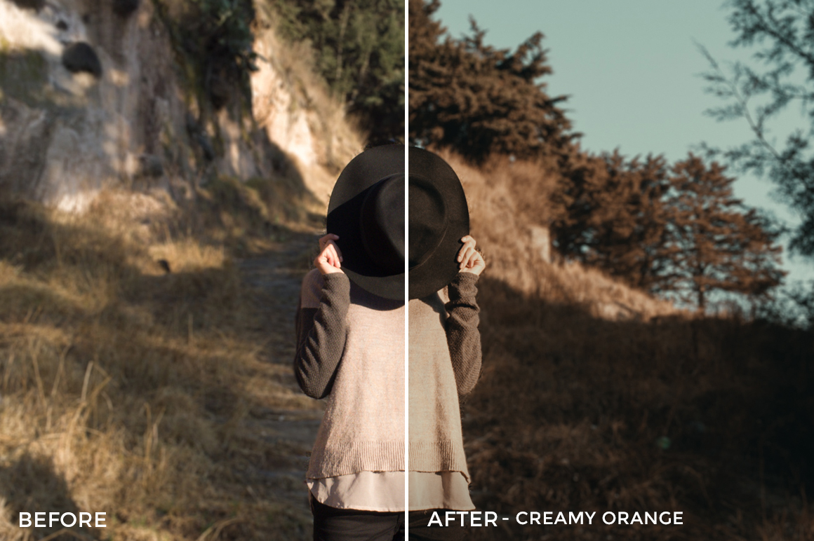 2 Creamy Orange- Colorgrader Lightroom Presets - @colorgrader - FilterGrade Digital Marketplace