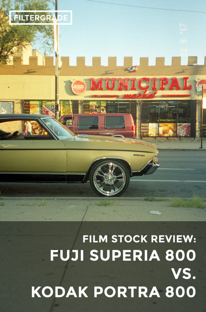 FEATURED 1 Fuji Superia 800 vs. Kodak Portra 800 Film Stock Review - FilterGrade Blog