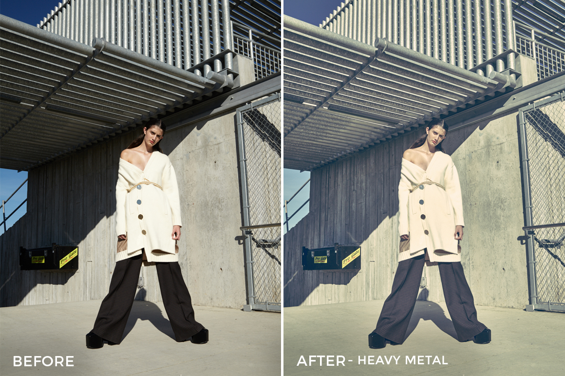 Heavy Metal - Editorial Series- Natural Light Capture One Styles - FilterGrade