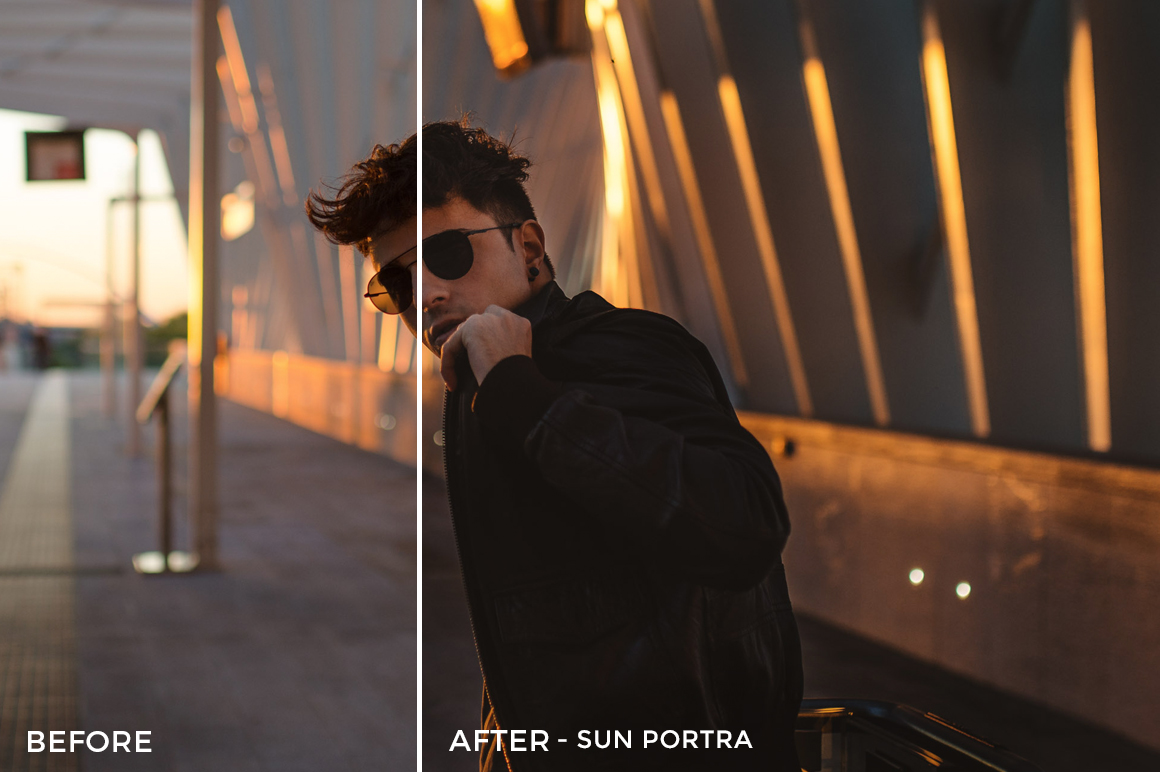 Sun Portra - Emanuele Di Mare Portrait Juice Lightroom Presets - FilterGrade