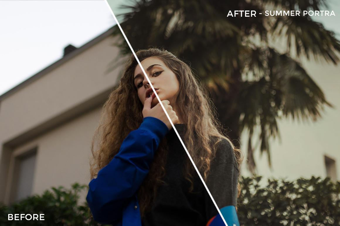 Summer Portra - Emanuele Di Mare Portrait Juice Lightroom Presets - FilterGrade