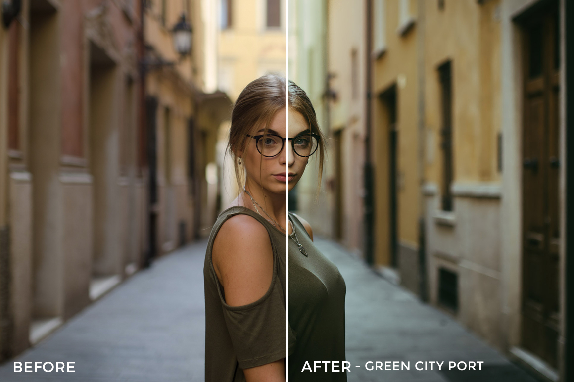Green City Port - Emanuele Di Mare Portrait Juice Lightroom Presets - FilterGrade