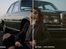 Car Portra - Emanuele Di Mare Portrait Juice Lightroom Presets - FilterGrade