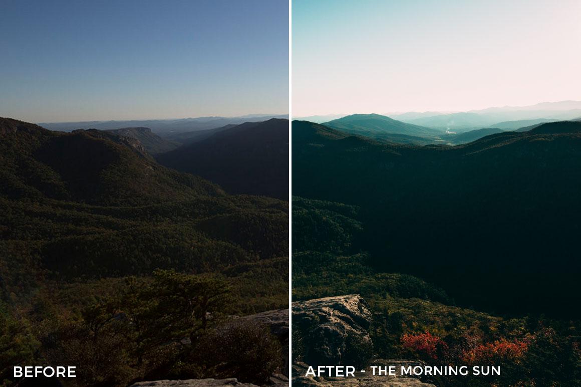 The Morning Sun - Kal Visuals Landscape Lightroom Presets II - FilterGrade