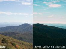 Look at the Mountains- Kal Visuals Landscape Lightroom Presets II - FilterGrade