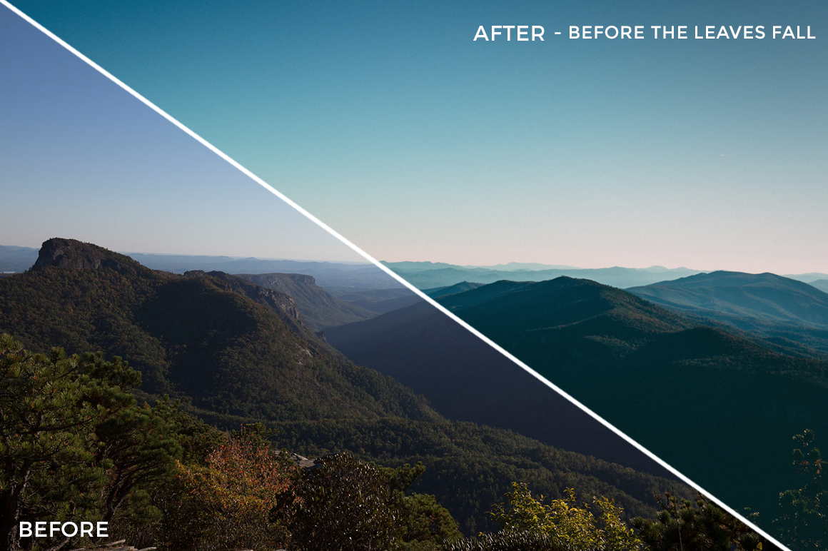Before the Leaves Fall - Kal Visuals Landscape Lightroom Presets II - FilterGrade