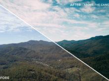 Above the Canopy - Kal Visuals Landscape Lightroom Presets II - FilterGrade