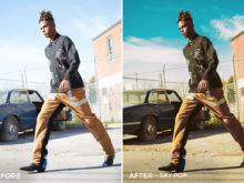 Sky Pop - Mark Binks Outdoor Fashion Lightroom Presets - FilterGrade