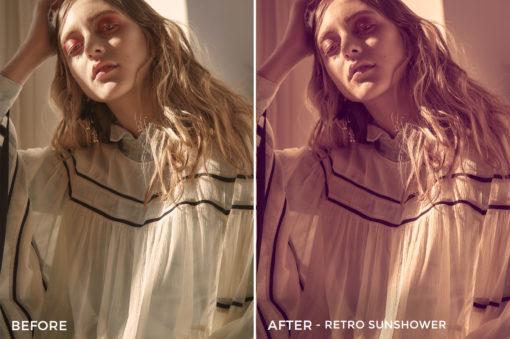 Retro Sunshower - Mark Binks Outdoor Fashion Lightroom Presets - FilterGrade