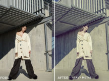 Heavy Metal - Mark Binks Outdoor Fashion Lightroom Presets - FilterGrade