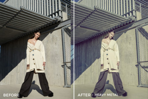 Heavy Metal - Mark Binks Outdoor Fashion Lightroom Presets - FilterGrade