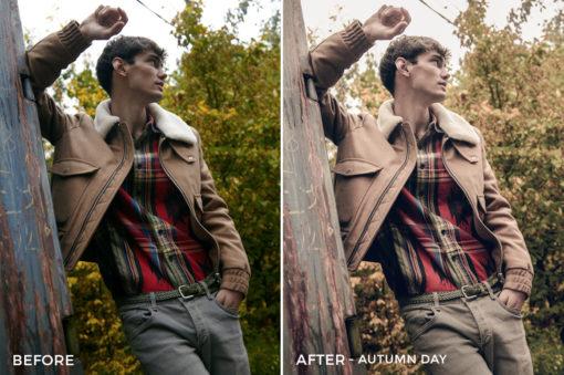 Autumn Day - Mark Binks Outdoor Fashion Lightroom Presets - FilterGrade