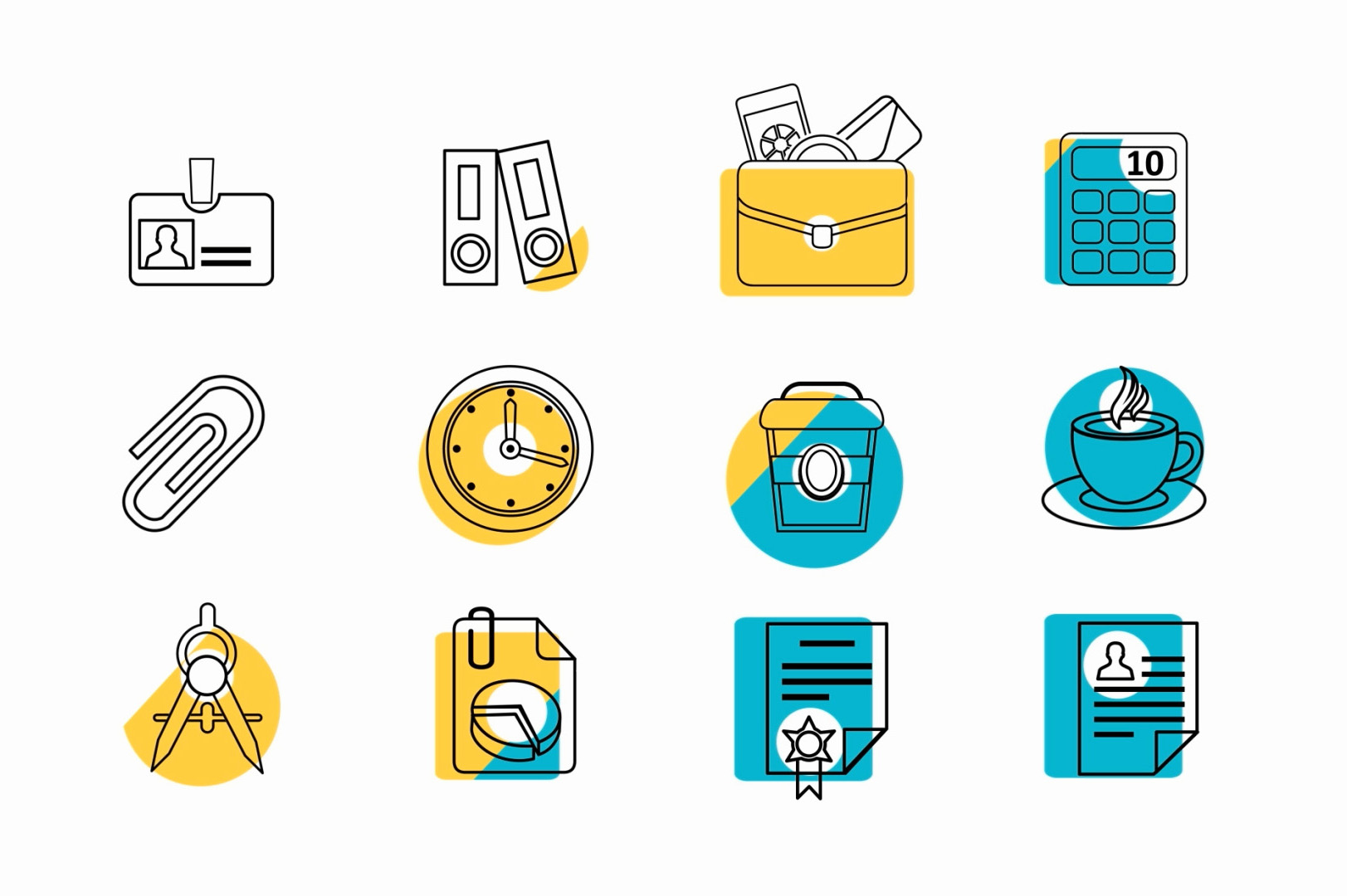 after effects animated icons for business and startup themes