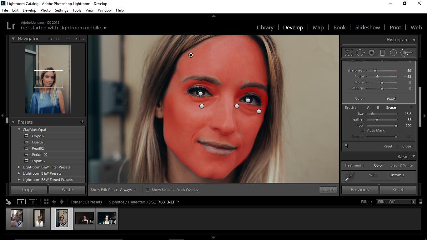 18 Editing Portraits Using Unique Lightroom Presets - FilterGrade Blog