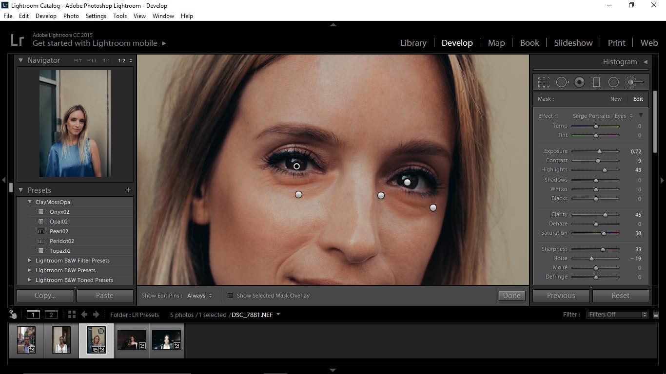 15 Editing Portraits Using Unique Lightroom Presets - FilterGrade Blog