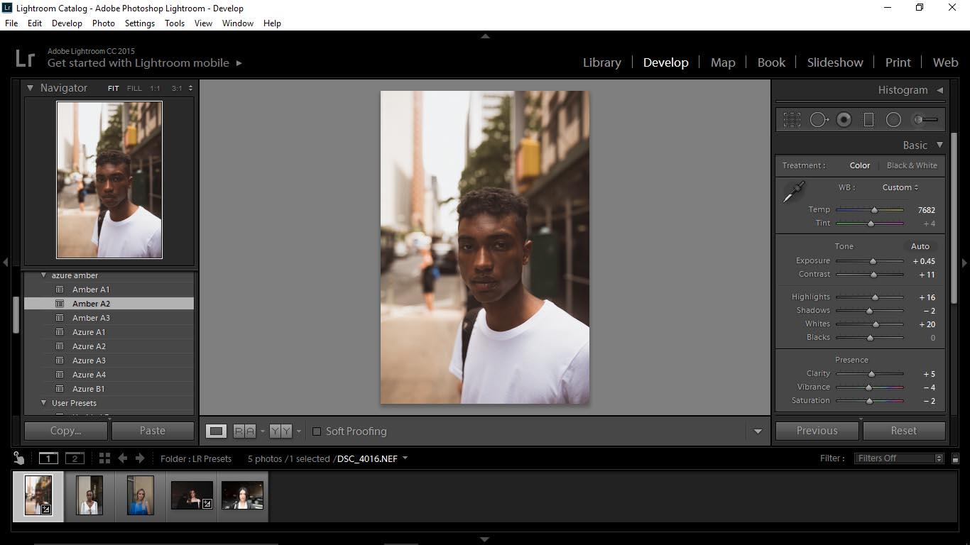 5 Editing Portraits Using Unique Lightroom Presets - FilterGrade Blog