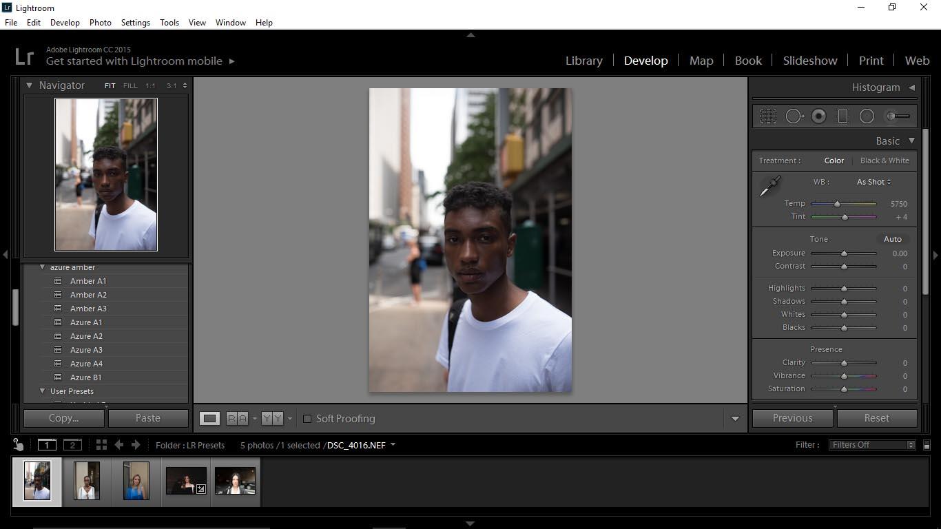 4 Editing Portraits Using Unique Lightroom Presets - FilterGrade Blog