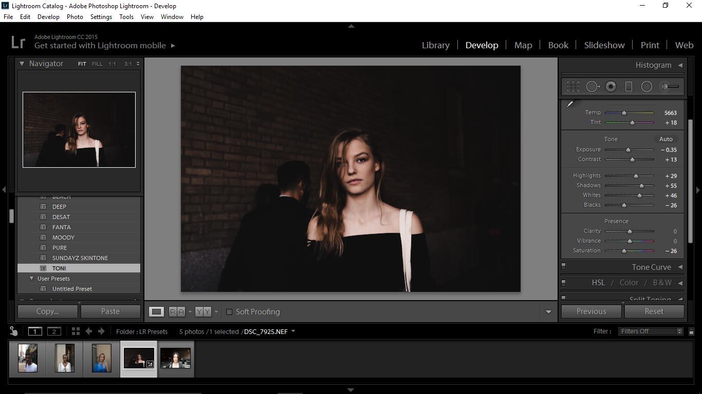 3 Editing Portraits Using Unique Lightroom Presets - FilterGrade Blog