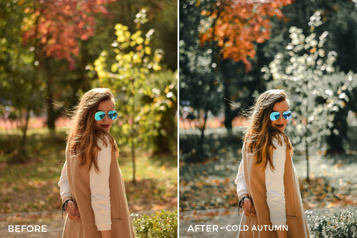 Cold Autumn - Iustina Dumitrescu Lightroom Presets - FilterGrade