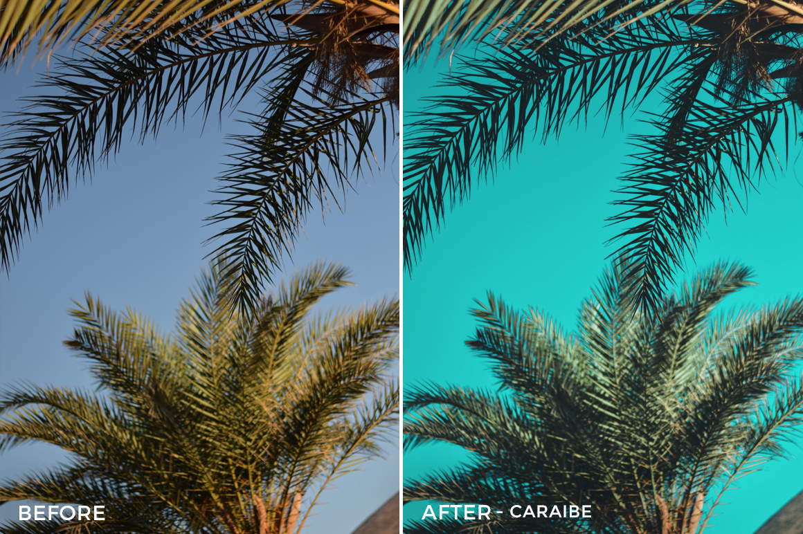 Caraibe - Iustina Dumitrescu Lightroom Presets - FilterGrade