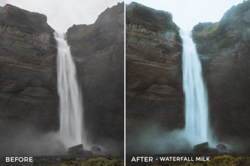 Waterfall Milk - Dmitry Shukin Lightroom Presets - FilterGrade