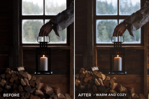 Warm and Cozy - Dmitry Shukin Lightroom Presets - FilterGrade
