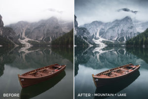 Mountain + Lake - Dmitry Shukin Lightroom Presets - FilterGrade
