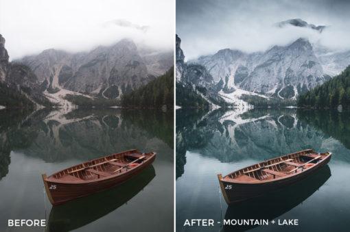 Mountain + Lake - Dmitry Shukin Lightroom Presets - FilterGrade