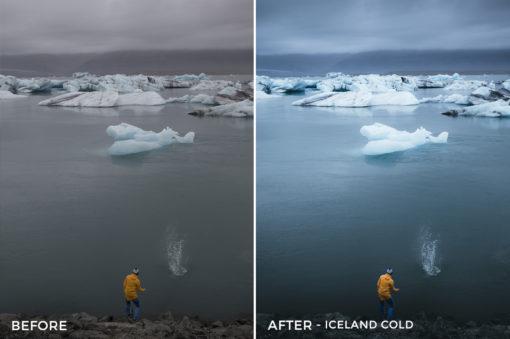 Iceland Cold - Dmitry Shukin Lightroom Presets - FilterGrade