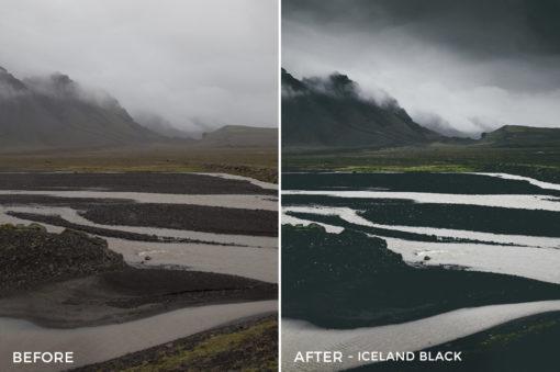 Iceland Black - Dmitry Shukin Lightroom Presets - FilterGrade