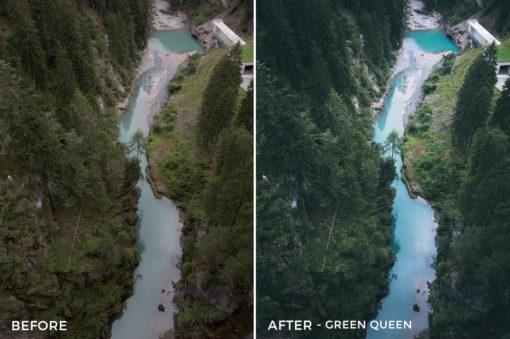 Green Queen - Dmitry Shukin Lightroom Presets - FilterGrade