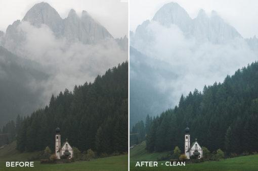 Clean - Dmitry Shukin Lightroom Presets - FilterGrade