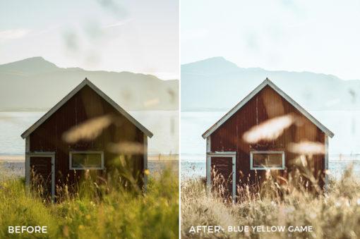 Blue Yellow Game - Dmitry Shukin Lightroom Presets - FilterGrade