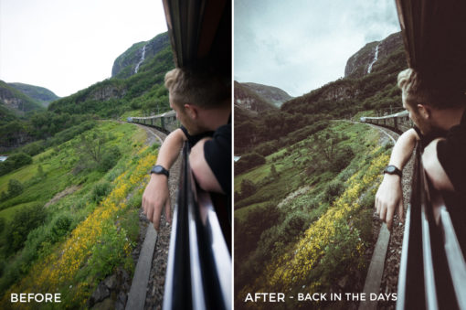Back in the Days Dmitry Shukin Lightroom Presets - FilterGrade