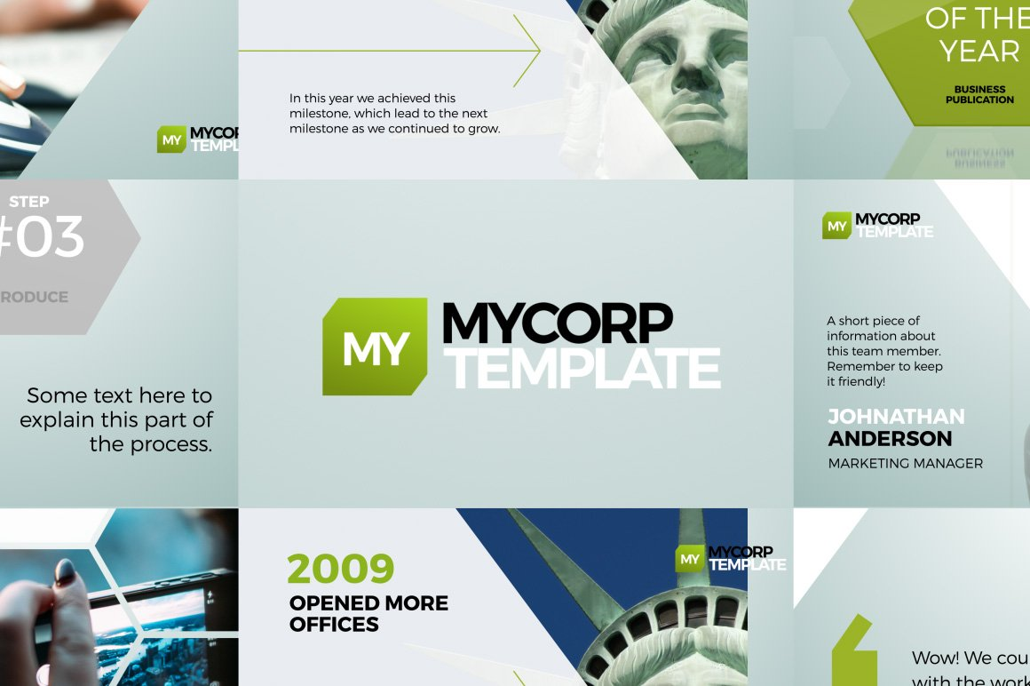 Mycorp Business Promo After Effects Template Filtergrade
