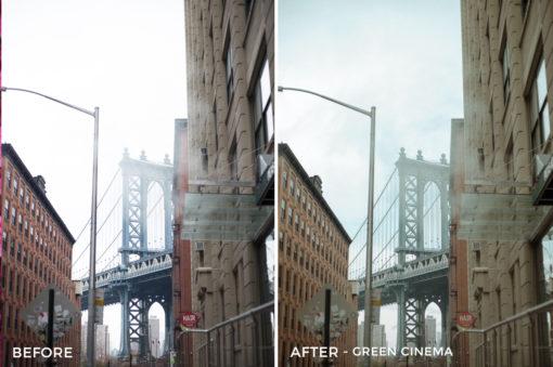 Green Cinema - Explore with Corinth Video LUTs - FilterGrade