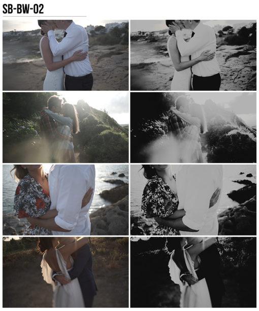 11 Vanessa & Ivo's Wedding LUTs - SB Pack - FilterGrade