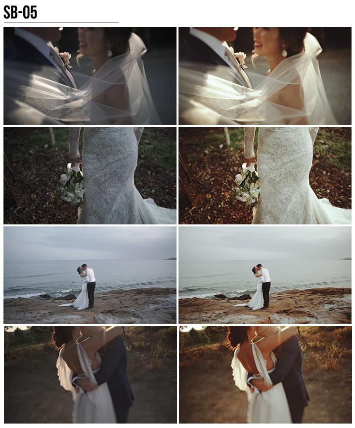 5 Vanessa & Ivo's Wedding LUTs - SB Pack - FilterGrade