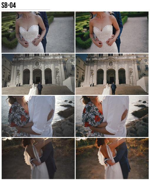 4 Vanessa & Ivo's Wedding LUTs - SB Pack - FilterGrade