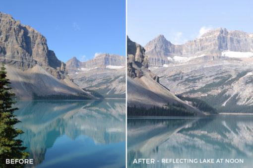 Reflecting Lake at Noon - Niklas Nxploring Lightroom Presets - FilterGrade