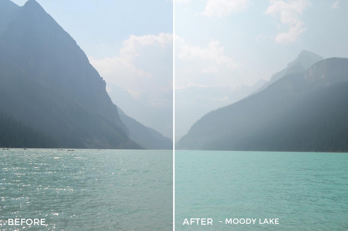 Moody Lake - Niklas Nxploring Lightroom Presets - FilterGrade
